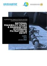 National feasibility study and roadmap for river bank filtration in egypt