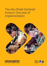 The Abu Dhabi Declared Actions: One year of implementation